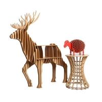 Plywood reindeer craft art furniture