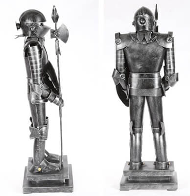 retro ornaments knight decoration best gift