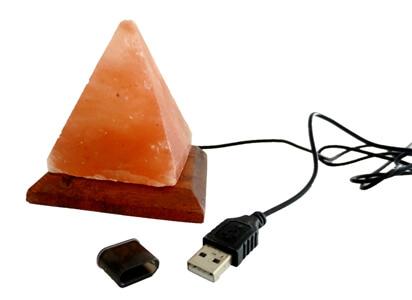 triangle salt lamp usb