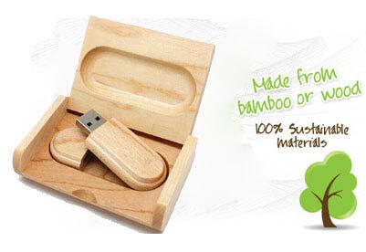 wood USB 2