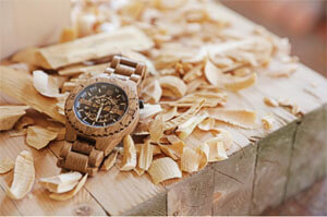 wooden watch 1