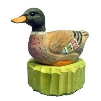 Wood duck pencil sharpener