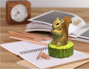 wood animal sharpener