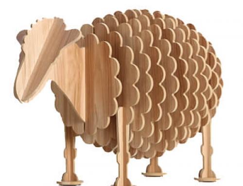 Plywood animal furniture