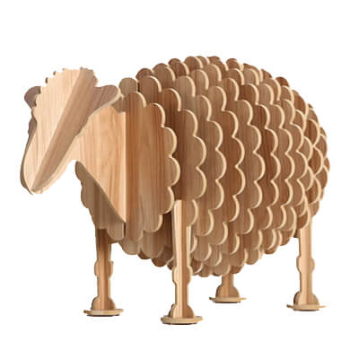 Plywood-animal-furniture
