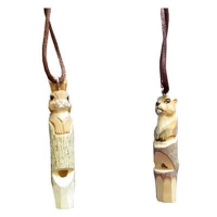 Wood animal whistles