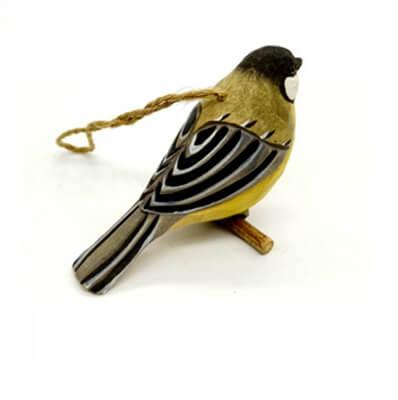 wood Great Tit bird