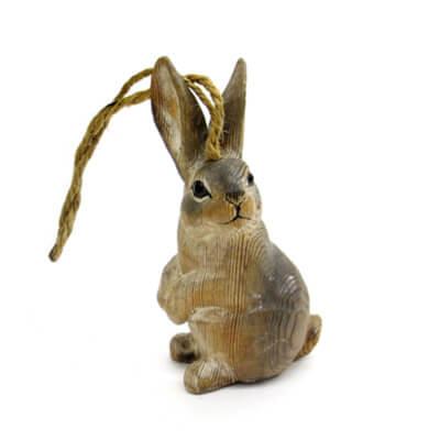 wood carved rabbit