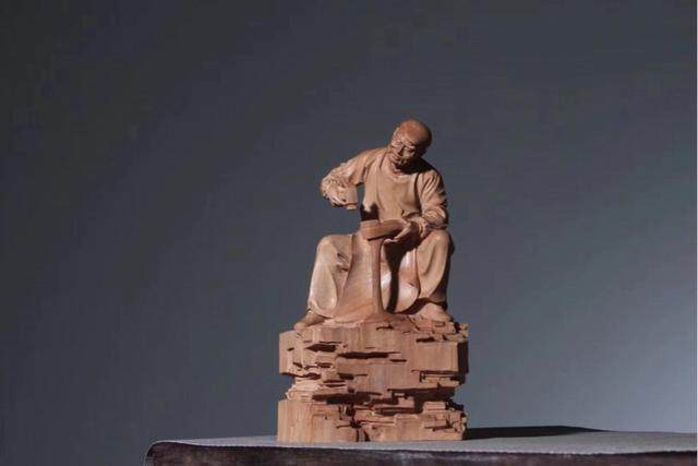 Zhejiang boxwood carving