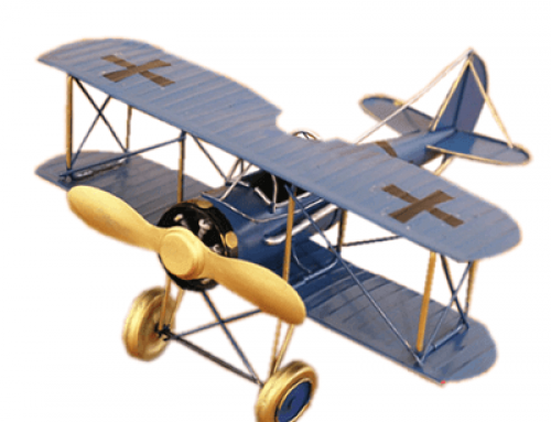 Spot Goods Vintage airplane decor