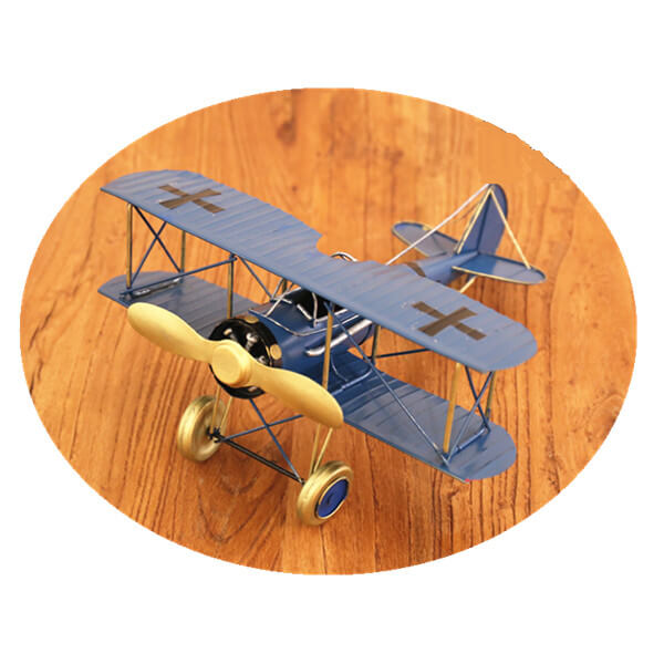vintage metal airplan 1 (3)