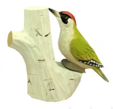wood Green Woodpecker