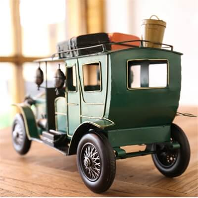 Classic retro iron metal car model decoration (1)