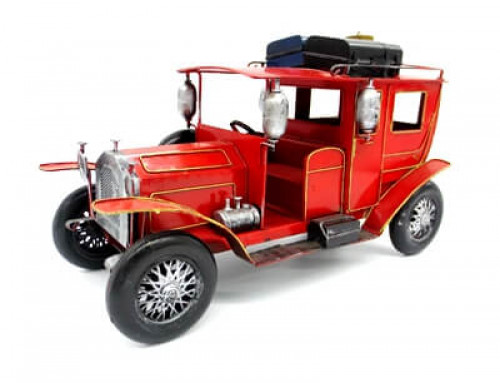 Classic retro iron metal car model decoration