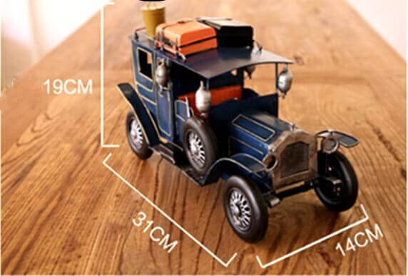 Classic retro iron metal car model decoration (5)