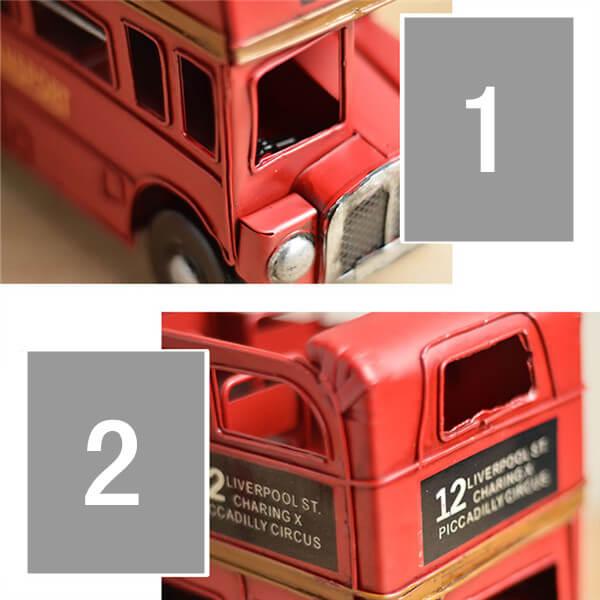 Double-decker Bus detail