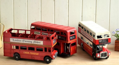 Handmade Classic London Street Bus (2)