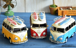 Vintage VW Style Bus