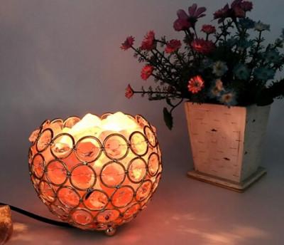 Crystal Round Ball Shape Night Lamp