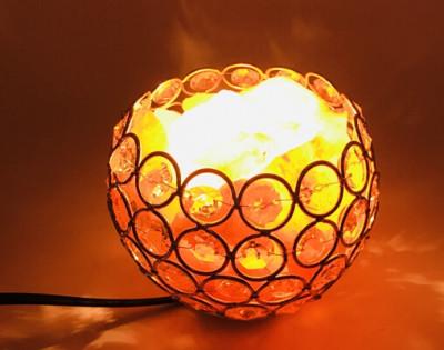 HIMALAYAN SALT LAMP YUEDAER CRYSTAL SEA SALT ROCK LAMP BOWL