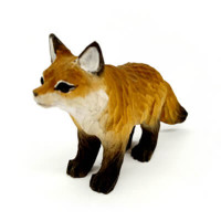 Handmade Wooden Fox Ornament