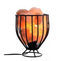 Himalayan Salt Wrought Iron Salt Basket LampHimalayan Salt Wrought Iron Salt Basket Lamp