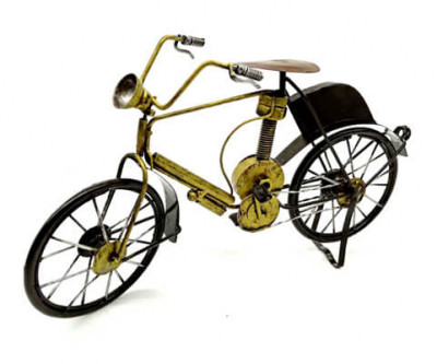 Retro Handmade Bicycle Figurines
