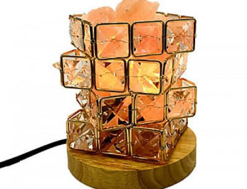 Rubik CubeDiamondsSalt Lamp