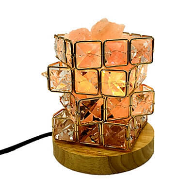 Rubik Cube Serenity Himalayan Salt Lamp