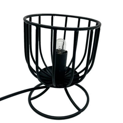Salt Wrought Iron Salt Basket Lamp