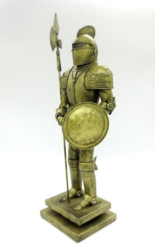 medieval knight detail