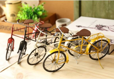 metal bicycle decoration