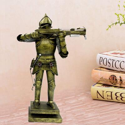 metal medieval knight armor