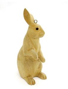 nature wooden rabbit