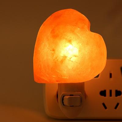 salt lamp heart shape night light (3)