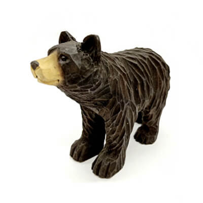 wood black bear