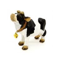 wooden farm cow