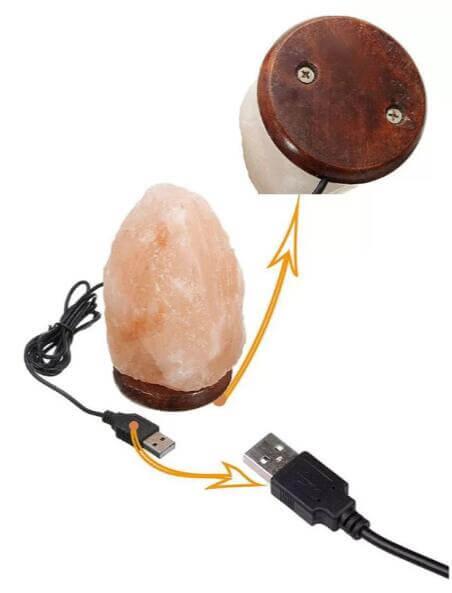 Crystal Salt Rock LAMP