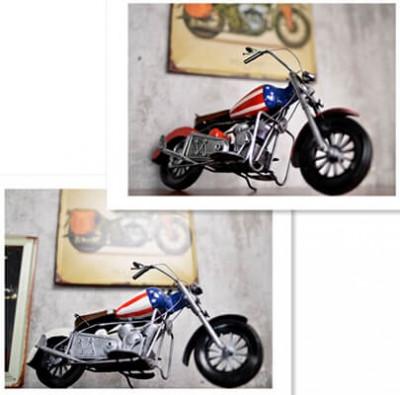 Handmade Retro Metal Motorcycle Model 2 colors