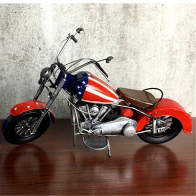 Handmade Retro Metal Motorcycle Model