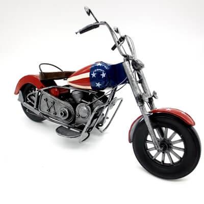 Handmade Retro Metal Motorcycle Model details
