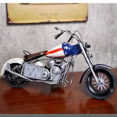 Home Decor Handmade Retro Metal Motorcycle